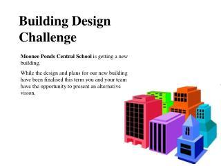 Building Design  Challenge