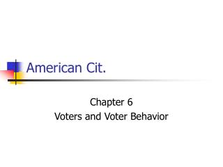 American Cit.