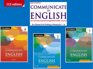 The course comprises  COURSEBOOKS LITERATURE READERS WORKBOOKS TEACHERS' HANDBOOKS WEB SUPPORT