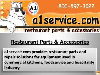 Restaurant service - Restaurant repair parts