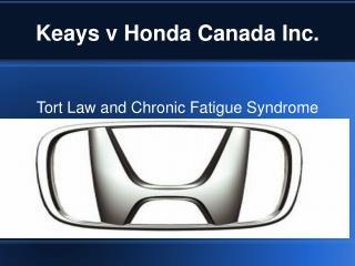 Keays v Honda Canada Inc.