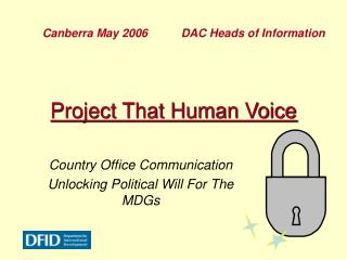 Project That Human Voice