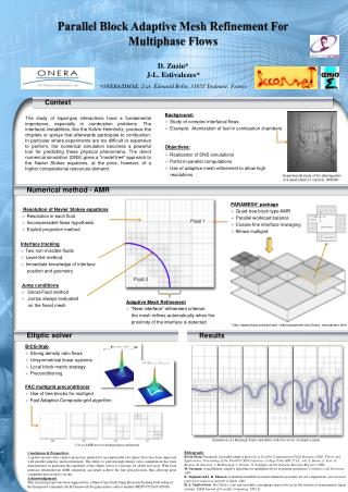 Parallel Block Adaptive Mesh Refinement For Multiphase Flows