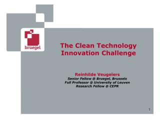 The Clean Technology Innovation Challenge