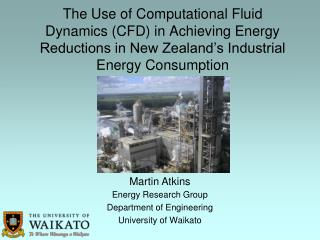 Energy Research Group Department of Engineering University of Waikato