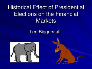 Historical Effect of Presidential Elections on the Financial Markets