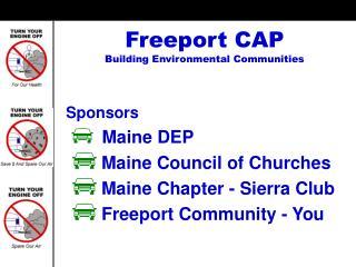 Freeport CAP Building Environmental Communities