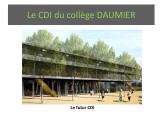Le CDI du collège DAUMIER