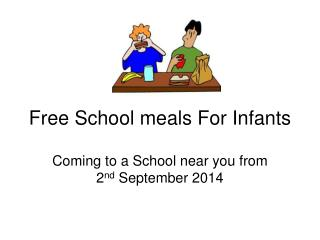 Free School meals For Infants