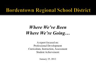 Bordentown Regional School District