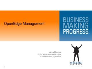 OpenEdge Management