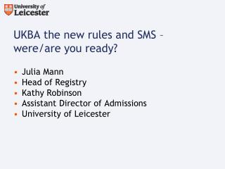 UKBA the new rules and SMS – were/are you ready?
