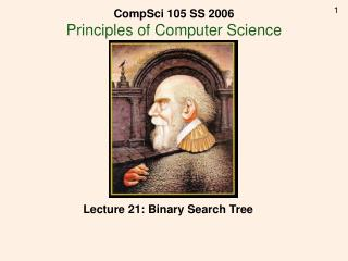 Lecture 21: Binary Search Tree
