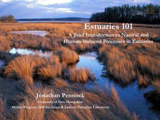 Estuaries 101 A Brief Introduction to Natural and  Human-Induced Processes in Estuaries