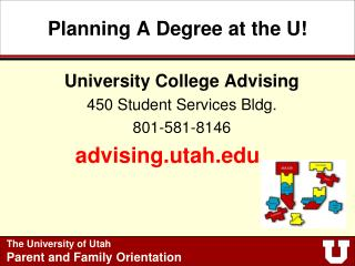 Planning A Degree at the U!