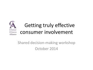 Getting truly effective consumer involvement