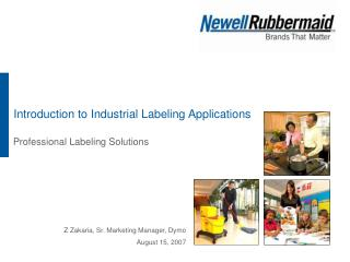 Introduction to Industrial Labeling Applications