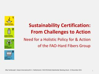 Sustainability Certification: From Challenges to Action