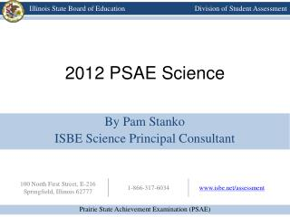 2012 PSAE Science
