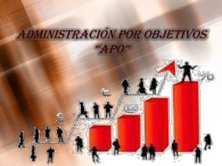 """Administración por Objetivos """"APO"""""""