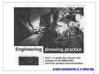 BSI Engineering Drawing Practices