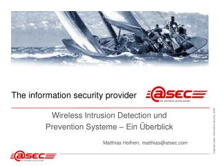 Wireless Intrusion Detection und  Prevention Systeme – Ein Überblick