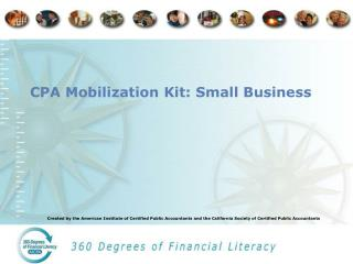 CPA Mobilization Kit: Small Business
