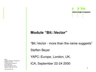 Module �Bit::Vector�