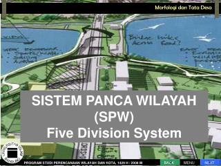 SISTEM PANCA WILAYAH (SPW) Five Division System