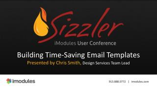 Building Time-Saving Email Templates