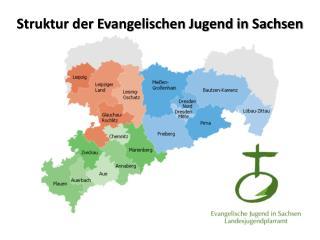 Struktur der Evangelischen Jugend in Sachsen