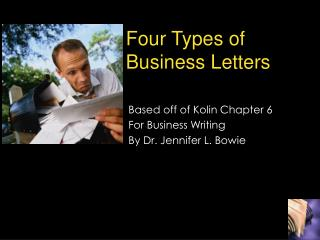 Four Types of Business Letters