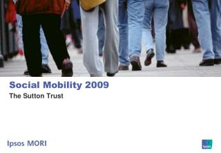 Social Mobility 2009