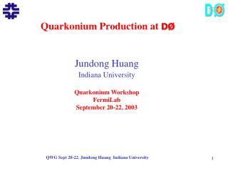 Quarkonium Production at  D�