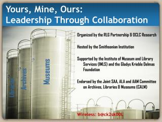 Yours, Mine, Ours: Leadership Through Collaboration
