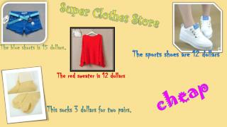 Super  C lothes  S tore