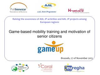 Game-based mobility training and motivation of senior  citizens