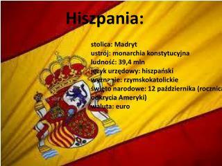 Hiszpania: