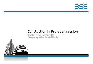 Call Auction In Pre open session