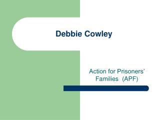 Debbie Cowley