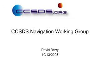 CCSDS Navigation Working Group