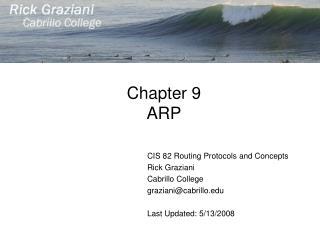 Chapter 9 ARP