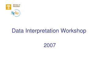 Data Interpretation Workshop
