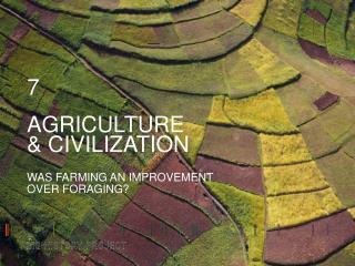 AGRICULTURE & CIVILIZATION