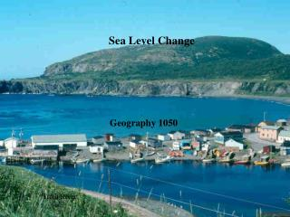 Sea Level Change