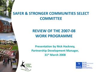REVIEW OF THE 2007-08 WORK PROGRAMME