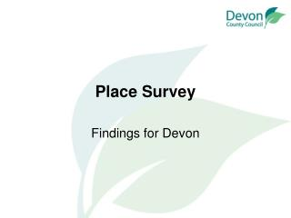 Place Survey
