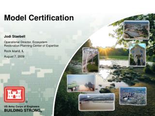 Model Certification