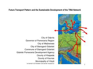 Future Transport Pattern and the Sustainable Development of the TINA Network