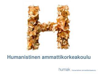 Humanistinen ammattikorkeakoulu